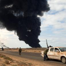 GORI TRIPOLI! Na meti napada glavni međunarodni aerodrom