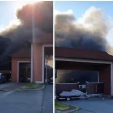 GORI TRŽNI CENTAR U BEOGRADU: Gust dim kulja na sve strane, poznato ima li ŽRTAVA! (FOTO/VIDEO)