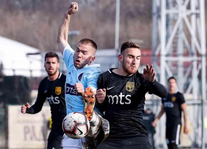GRAĐEVINARI OPET BEZ POBEDE: Rad poveo, Dinamo odneo bod u Vranje