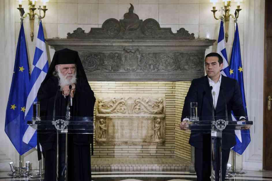 GRČKA CRKVA ODBILA CIPRASOV PREDLOG: Traže da sveštenici ostanu na državnom budžetu