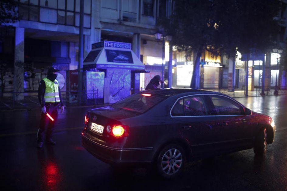 GRČKA POOŠTRAVA POLICIJSKI ČAS: Kad izađete završite pekaru, prodavnicu i apoteku sve odjednom! Ne izlazite više puta