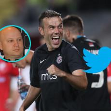 GROBARI LUDUJU Natho = tatko, a Stanojević KAO MARKO NIKOLIĆ! Izgoreo Tviter: Partizan MELJE