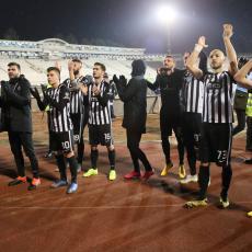 GROBARI SU ČEKALI NJEGOVE REČI: Fudbaler otkrio da li ostaje ili odlazi iz Partizana!