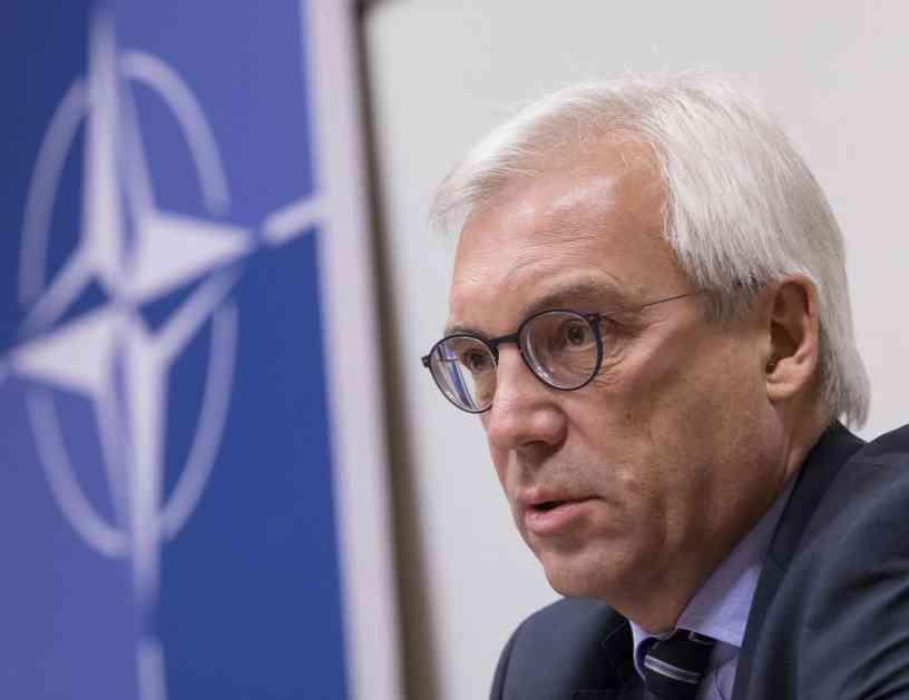 GRUŠKO: Rusija spremna za razgovor sa NATO o bezbednosnom sporazumu, Alijansa ćuti!