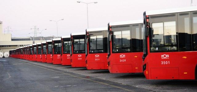 GSP Beograd nabavlja 200 novih autobusa na gas