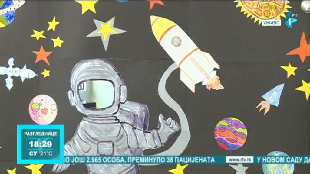 Gagarinov let u svemir predstavljen novosadskim đacima