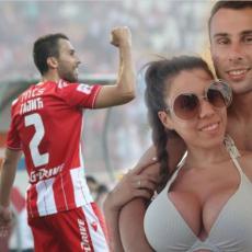 Gajić je sa Zvezdom demolirao Liberec, a OVO je prelepa Danica kojoj posvećuje sve golove (FOTO)