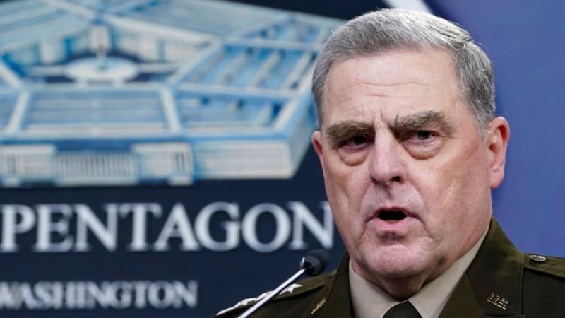 General Mili: Razgovori sa Kinom bili deo mojih dužnosti