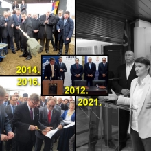 Geoks - od olovke i ugovora 2012, preko lopate i kamena temeljca 2014, makaza i svecane vrpce 2016, do katanca 2021. (VIDEO)