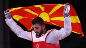 Georgievski osvojio srebro u tekvondou, prva medalja za Severnu Makedoniju u Tokiju