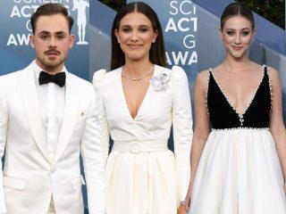 Glamur na sve strane: Evo šta su poznati nosili na dodeli SAG nagrada