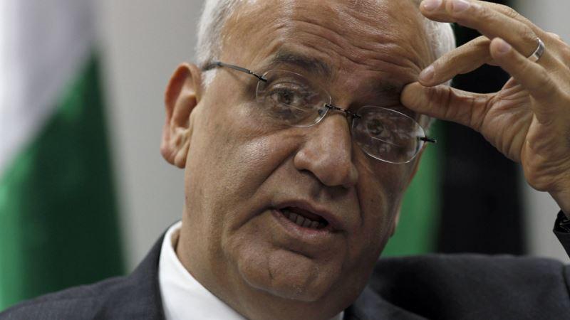 Glavni palestinski pregovarač Saeb Erekat na ventilatoru