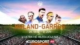 Gledajte Rolan Garos na Eurosport 4K kanalu!