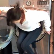 Glumica OBOLELA OD RAKA OSTAVILA OPROŠTAJNU PORUKU! Snimak njenog ulaska u veš mašinu izazvao BURU