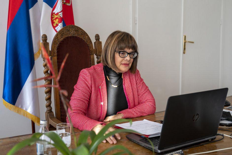 Gojković: Poslata jasna poruka da je država spremna za borbu