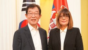 Gojković: Srbija spremna da obeleži jubilej diplomatskih odnosa sa Korejom