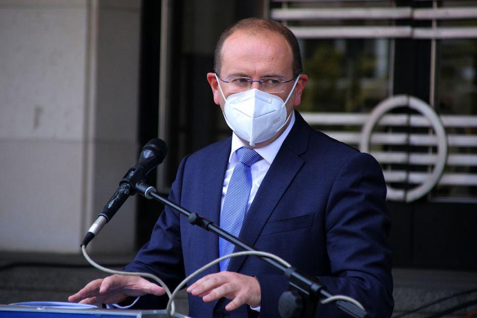 Gojković: U poslednja 24 sata registrovano 235 novih slučajeva koronavirusa
