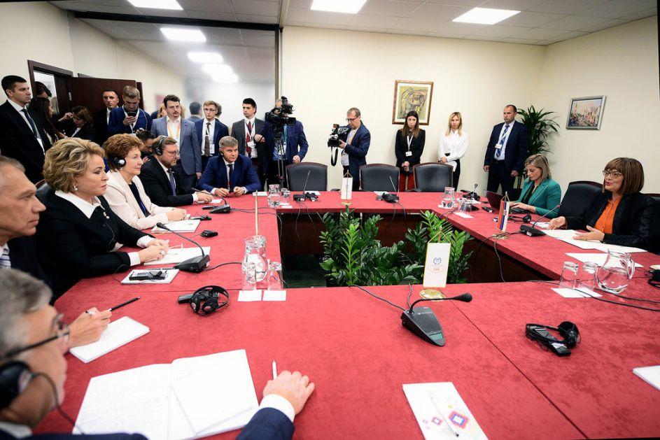 Gojković i Matvijenko o unapređenju saradnje i značaju IPU