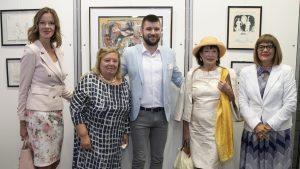 Gojković otvorila izložbu crteža Milića od Mačve
