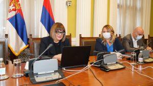 Gojković razgovarala sa Fajon i Bilčikom o izbornim uslovima