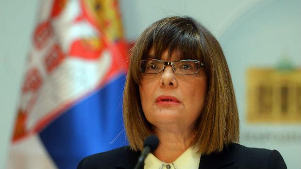 Gojkovićeva odgovorila na pismo Makalistera