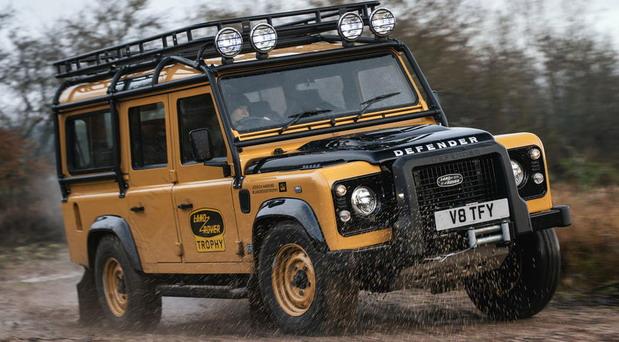 Goodyear pneumatici za Land Rover Defender