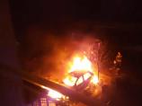 Goreo automobil na Vizantijskom Bulevaru, niko nije povređen
