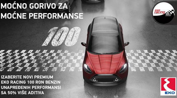 Gorivo po meri vašeg automobila: EKO Racing 100 oživljava vašu strast za vožnjom