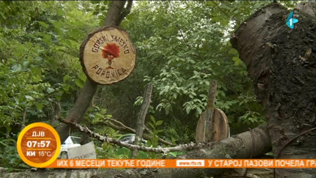 Gorski Smeško - oaza za dušu i telo na Popovici