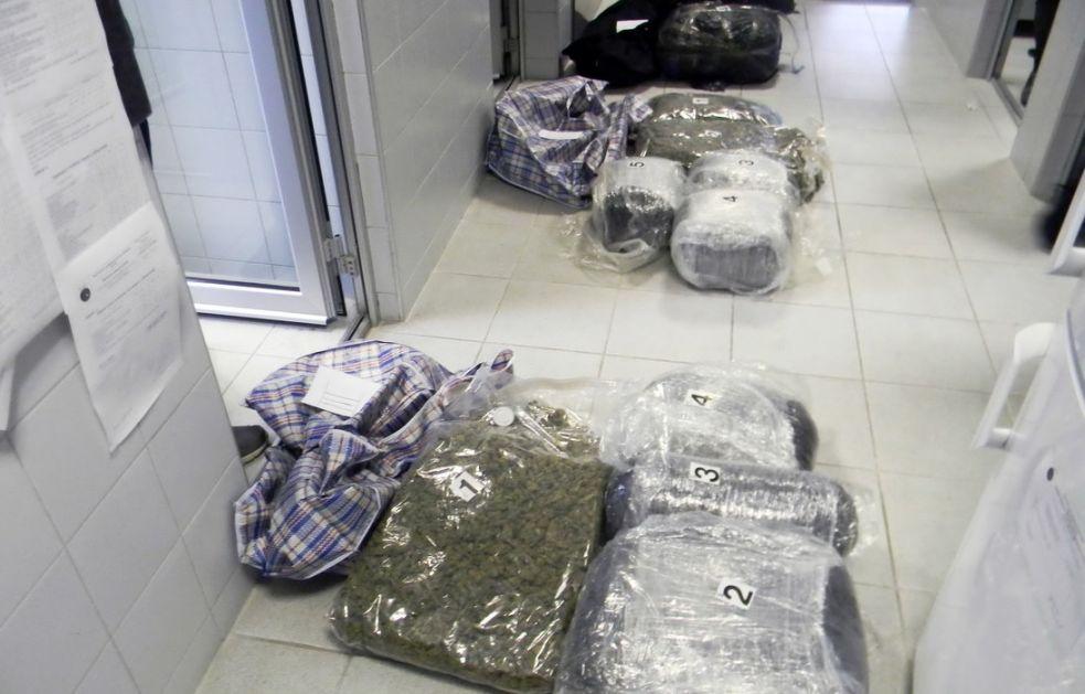 Gotovo 60 kg marihuane zaplenjeno u Užicu