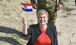Grabar-Kitarović: Nikada više ni jedan jedini srpski tenk neće ući u Vukovar