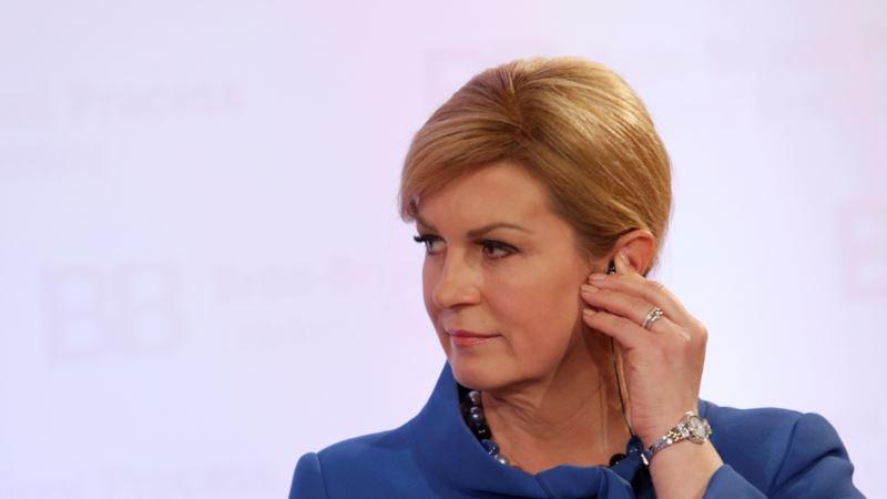 Grabar-Kitarović upozorila na važnost proširenja EU