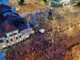 Građani i organizatori: Na protestima u Nišu provokatori, od večeras obezbeđenje