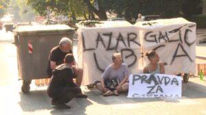 Počeo protest na Karaburmi zbog pogibije dečaka na pešačkom prelazu