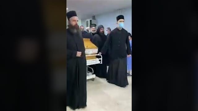 Građani Podgorice, vernici i zaposleni u KBC ispratili Amfilohija, u Cetinjskom manastiru održan pomen