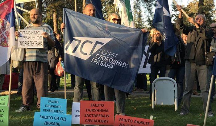 Građanski blok 381 prikuplja potpise za smenu Vučića