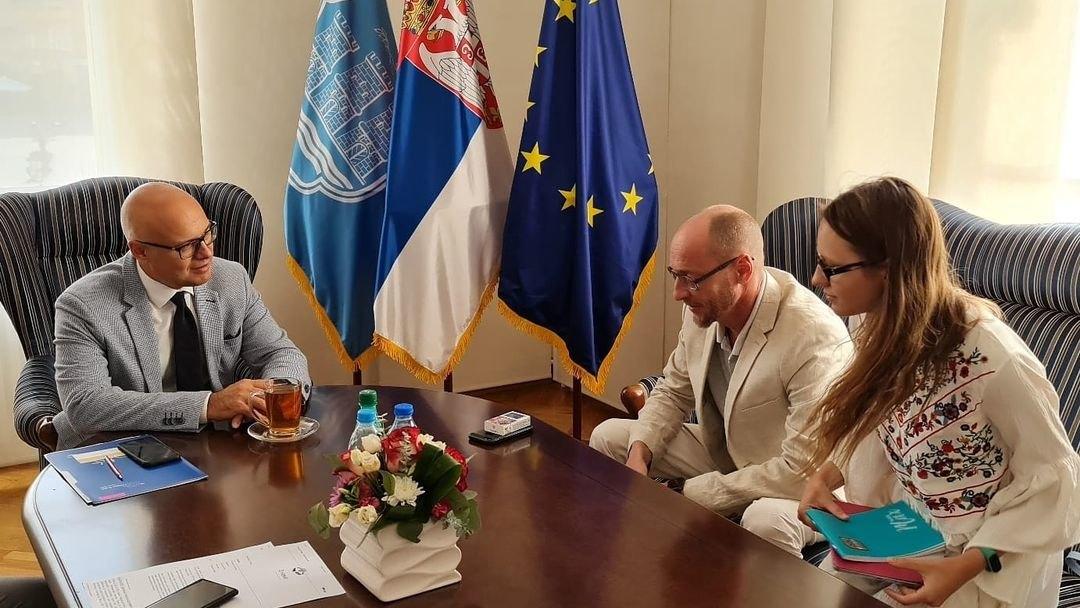 Gradonačelnik Vučević sa direktorom Ruskog doma Baranovim o Nedelji ruskog filma