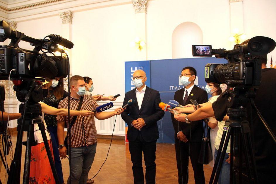Gradonačelnik Vučević sa kineskim Šandongom o izgradnji novog mosta