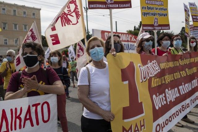 Grci štrajkuju zbog novog zakona o radu