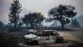 Grčka: Razbuktali požari za sobom ostavljaju crne šume
