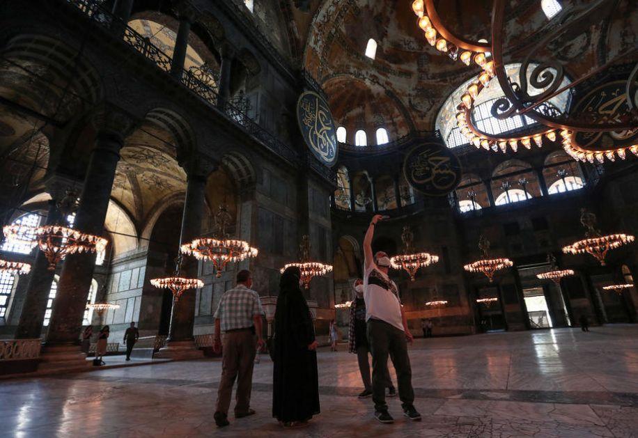 Grčka crkva traži osudu Turske zbog Aja Sofije