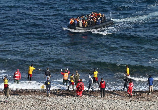 Grčka obalska straža spasila 136 migranata