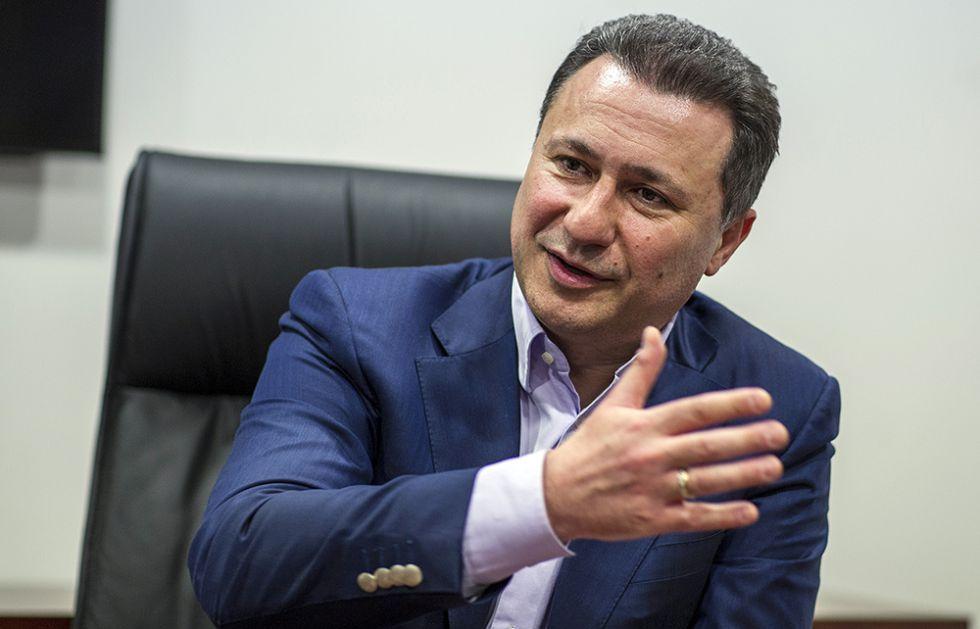 Gruevskom nije oduzet poslanički mandat