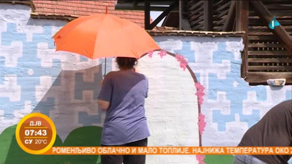 Grupa mladih odlučila da pokloni mural Sremskim Karlovcima