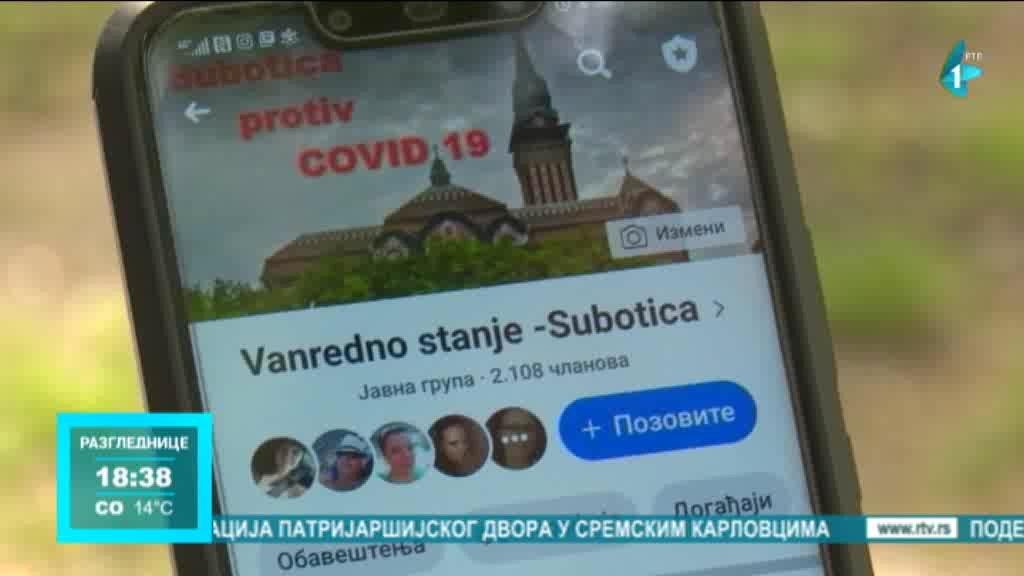 Grupa za pomoć Subotičanima na Fejsbuku opstala i posle ukidanja vanrednog stanja