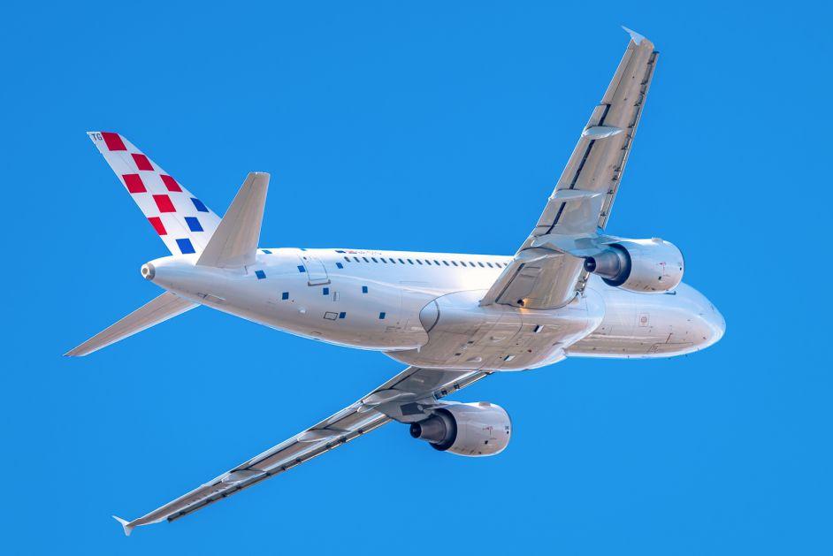 Gubitak Croatia Airlinesa povećan za više od četiri puta