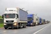 Gužva za kamione na Horgošu, očekuje se pojačan saobraćaj
