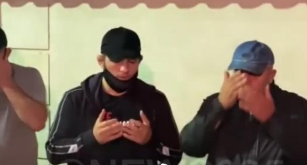 HABIB NURMAGOMEDOV ŽALI ZA OCEM: Dagestanskog borca teši čečenski lider (VIDEO)