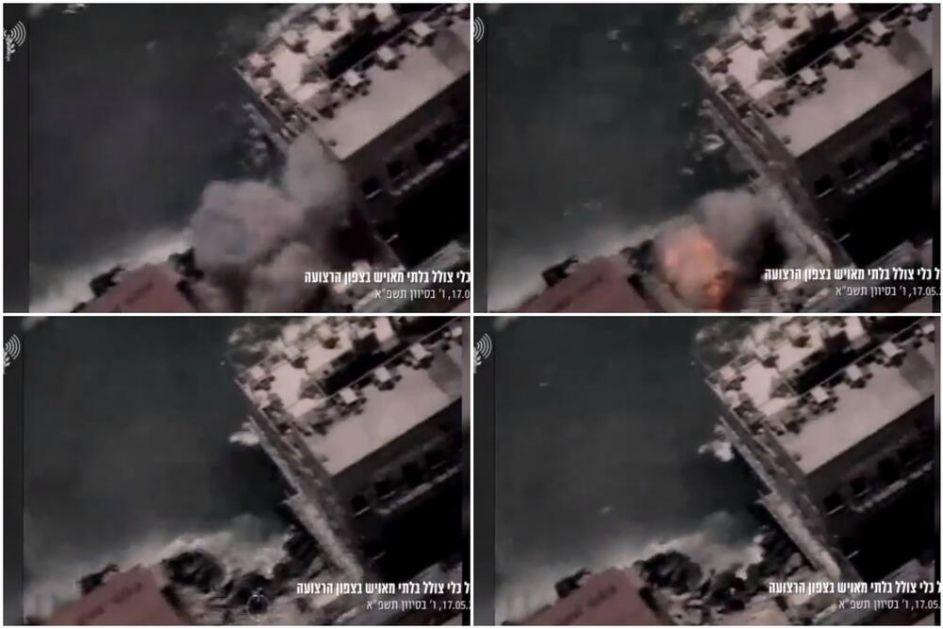 HAMAS PROTIV IZRAELA UPOTREBIO NOVO ORUŽJE: Nije raketa, a lansira se iz vode. Glavna META su brodovi i gasne platforme !