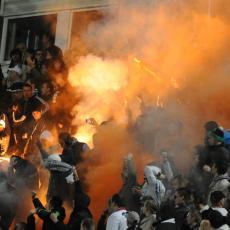 HAOS NA ULICAMA BEOGRADA: Sukobi navijača Crvene zvezde i Partizana na sve strane (FOTO)